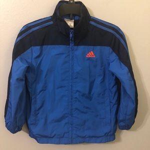 Adidas Blue Track Jacket X 2 Never Worn Size 5